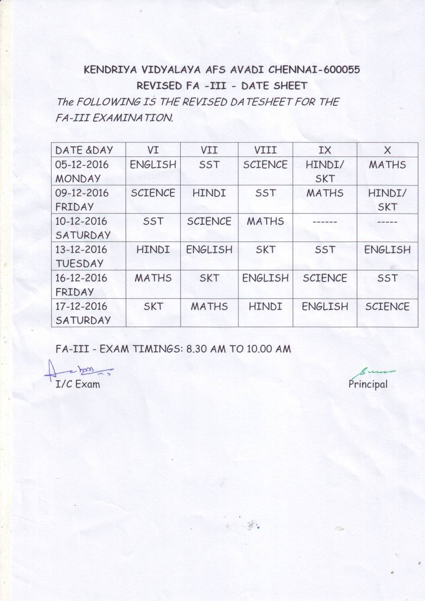 fa3-revised-timetable